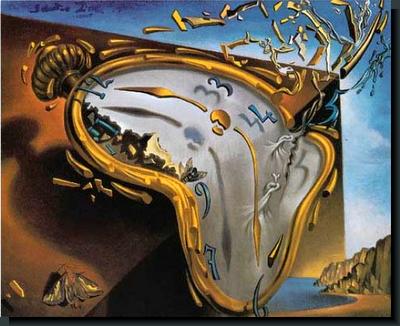 Salvador Dali Melting Clocks Modernidad líquid...